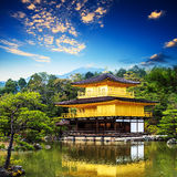 The Golden Pavilion(Kinkakuji Temple ) in Kyoto, Japan Stock Photo