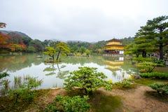 Golden Pavilion at Kinkakuji Temple, Kyoto Japan Stock Image