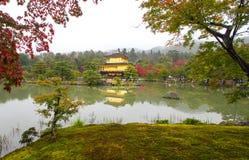 Golden Pavilion at Kinkakuji Temple, Kyoto Japan Stock Photography