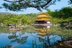 The Golden Pavilion, Kinkakuji Temple in Kyoto, Japan Royalty Free Stock Photos
