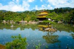 The Golden Pavilion, Kinkakuji Temple in Kyoto, Japan Royalty Free Stock Photography
