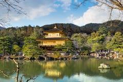 Golden Pavilion ( Kinkakuji temple) Royalty Free Stock Photography