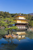 Golden Pavilion at Kinkakuji Temple Royalty Free Stock Photos