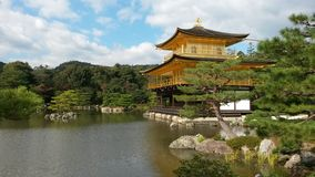 Golden pavilion Stock Photography