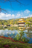 Golden Pavilion Kyoto Japan Stock Image