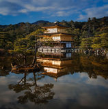 Golden Pavilion Royalty Free Stock Photography