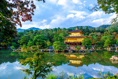 The Golden Pavilion in Kyoto, Japan Stock Image