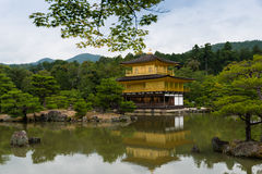 Golden pavilion Kyoto Japan Stock Photography