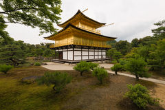 Golden pavilion Kyoto Japan Stock Photo