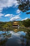 Golden pavilion of Kyoto, japan, known as kinkakuji Stock Image