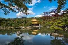 Golden pavilion of Kyoto, japan, known as kinkakuji Stock Images