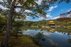 Golden pavilion of Kyoto, japan, known as kinkakuji Stock Photography