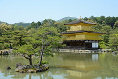 Golden Pavilion Kyoto Stock Images