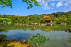 Golden Pavilion Kyoto Stock Images