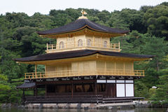 Golden Pavilion in Kyoto Stock Image