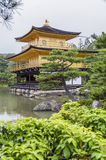 Golden Pavilion, Miromachi Zen temple in Japanes traditional Gar Stock Images