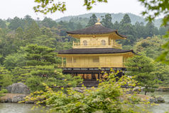 Golden Pavilion, Miromachi Zen temple in Japanes traditional Gar Stock Photos