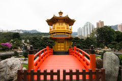 Golden Pavilion(Pavilion of Absolute Perfection) Stock Image