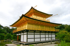 The golden pavilion temple Royalty Free Stock Photography
