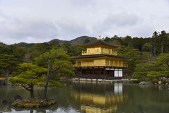 Golden Pavilion Temple Royalty Free Stock Image