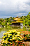 Golden Pavilion Temple Royalty Free Stock Photos