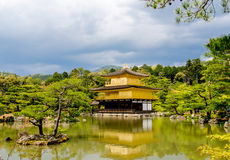 Golden Pavilion Temple Stock Photos