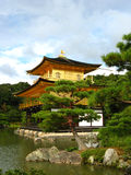 Golden Pavilion Temple Stock Photography