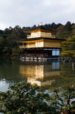 Golden pavilion temple Stock Images