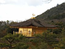 Golden Pavillion (Kinkaku-ji Temple), Kyoto, Japan Stock Photo