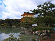 Golden Pavillion (Kinkaku-ji Temple), Kyoto, Japan Royalty Free Stock Photo
