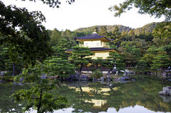 Golden Pavillion in Kyoto Japan Royalty Free Stock Photography