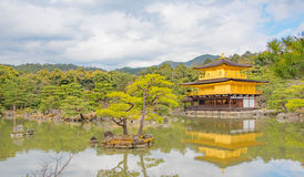 The Golden pavillion. In Kyoto, One of the iconic place in Japan Royalty Free Stock Images