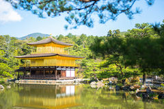 Golden pavillion Stock Photo