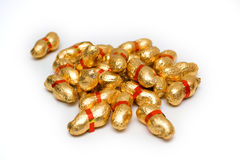 Golden Peanuts Stock Image