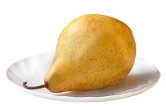 Golden pear Stock Photography