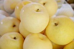 Golden pear Royalty Free Stock Photos
