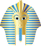 Golden pharaoh Stock Photo