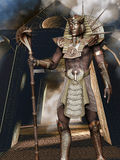Golden pharaoh Royalty Free Stock Images