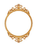 Golden picture frame royalty free stock photography