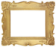 Golden picture frame Royalty Free Stock Image