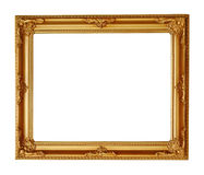 Golden picture frame Royalty Free Stock Photos