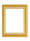 Golden Picture Frame. Royalty Free Stock Photography