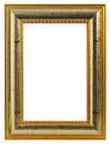 Golden Picture Frame Royalty Free Stock Photo