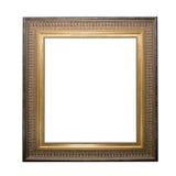 Golden pictute frame Stock Photo
