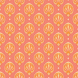 Golden and pink Stock Photography