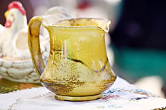Golden Pitcher Royalty Free Stock Image