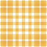 Golden Plaid Background Stock Image