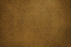 Golden plastic material texture background Royalty Free Stock Images