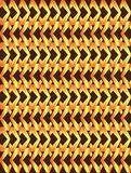 Golden poppy twisted long rhombus background Royalty Free Stock Image