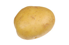 A Golden Potato Stock Image